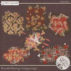 Beautiful Blessings Digital Scrapbook Hodgepodge. $2.99 at Gotta Pixel. www.gottapixel.net/
