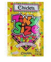Chiclets. I miss these!
