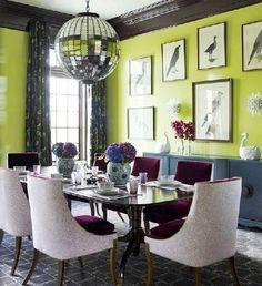 green apple interior design - Поиск в Google