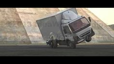 Motorcycle Crash Animation