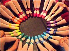 Ο κύκλος των…πολύχρωμων πουεντ!http://goo.gl/ERDnNT