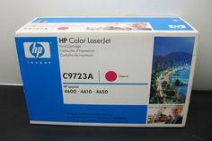 Genuine HP Color LaserJet Toner Print Cartridge C9723A Magenta 4600 4610 4650 | eBay