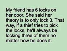Aha! Smart!!haha