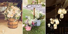 18 stunning DIY ideas which will help you create the rustic wedding of your dreams!