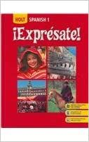 Amazon.com: Holt iExpresate! Level 1, Student Edition (9780030452048): HOLT, RINEHART AND WINSTON: Books Electronic Photo Album, Electronic Scrap, Forms Of Literature, Homeschool Books, Houghton Mifflin Harcourt, Spanish 1, Book Categories, Book 1, Textbook