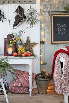 "🌟Tante S!fr@ loves this📌🌟blulilly: ""Vibeke Design "" Swedish Christmas, Merry Little Christmas, Scandinavian Christmas, Country Christmas, All Things Christmas, Vintage Christmas, Hygge Christmas, Noel Christmas, Winter Christmas"