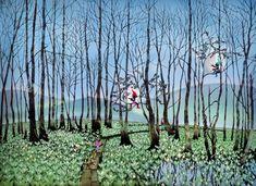 「湿原のミズバショウとこびと」2011年©Seiji Fujishiro/HoriPro