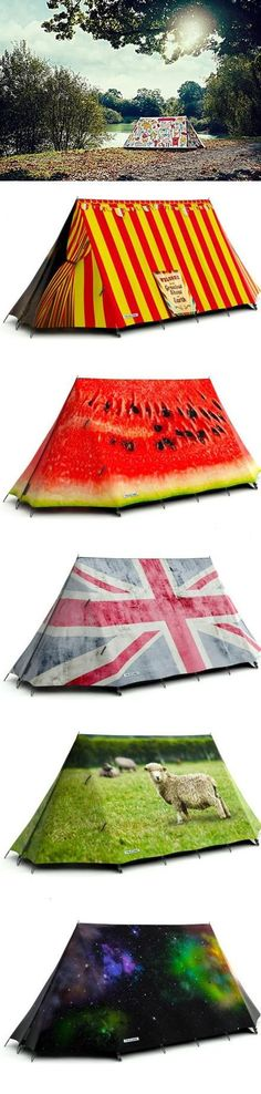 6 interesting tent designs very cool!!!!