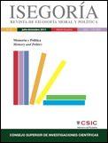 ISEGORÍA :  REVISTA DE FILOSOFÍA MORAL Y POLÍTICA