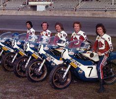 Daytona 1974 écurie Suzuki: Hideo Kanaya - Paul Smart -...