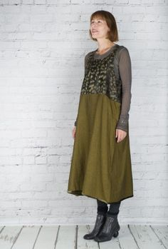 #TM Collection #Dress Pandan Gifo TM15515 (Sulphur Back)  #fashion #walkers #winter #season