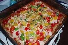 Hackfleischpizza ohne Teig 1
