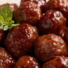 "I don't know if it's the ""extra ingedient"" I add, or my homemade meatball recipe, but I'm the one everyone always asks to make them! So sharing my recipe with you all! It's just the ever-still-popular one, but according to my friends and family, just a little touch better! Enjoy! (photo from bing images)"