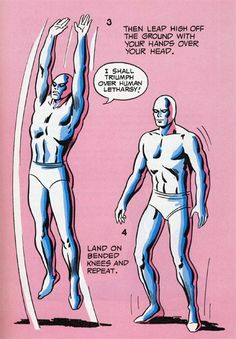 The 10 Most Amazing Exercises From 'The Mighty Marvel Strength and Fitness Book'