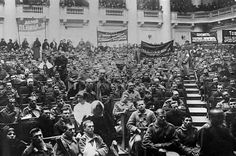 "The Provisional Government assembled in the Winter Palace at on 25 October to ""work out methods for the resolute and final liquidation of the Bolsheviks"". Political Beliefs, Politics, Political Figures, Bolshevik Revolution, World Conflicts, Russian Revolution, Anarchism, Imperial Russia, History"