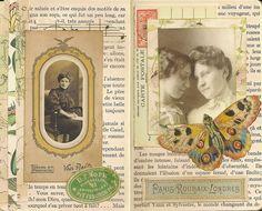 Vintage glue book ideas