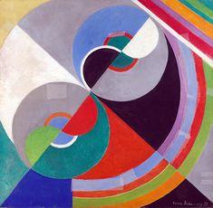 Sonya Delaunay - Rythme 1076 - 1939