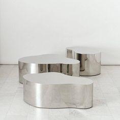 Karl Springer LTD, Free-Form Low Tables, USA 2