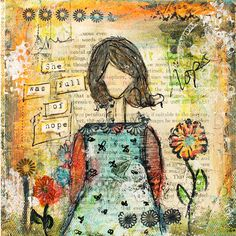 She+was+full+of+hope+mixed+media+original+by+ChristyTomlinson