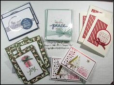 Simply Simple Saturdays - Lots and Lots of Cards!