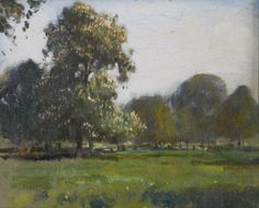 Edward Brian Seago, R.W.S. 1910-1974 TWO SKETCHES FOR MAY MORNING, MIDDLETON…