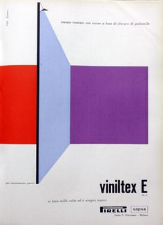 Pirelli / Sapsa, 1960 (Ref. Poster design/screen printing/Retro)