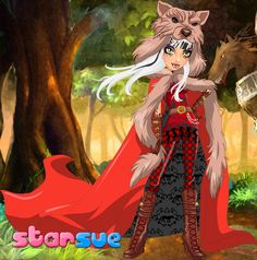 Coming Soon @ StarSue.Net : Ever After High Cerise Hood Rebel Style dress up game! ;)