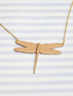 Ketting dragonfly - Lit de Parade, Zweden. Dragonfly necklace - Lit de Parade, Sweden.