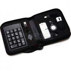 Kit portátil com acessórios para notebook personalizado www.brindice.com.br/brindes/kit-notebook