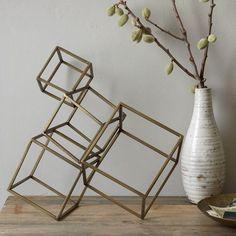 Cubed Sculpture   west elm