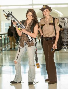 Daryl Dixon amp Rick Grimes from Walking Dead captured at CE | Amazing Cosplay Pics