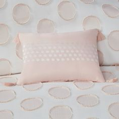 Jennifer Modern/Contemporary 100% Polyester Jacquard Duvet Cover Set – English Elm Envelope Pattern, How To Clean Pillows, Polka Dot Fabric, Intelligent Design, Colorful Chairs, Dots Design, High Fashion Home, Comforter Sets, Duvet Cover Sets