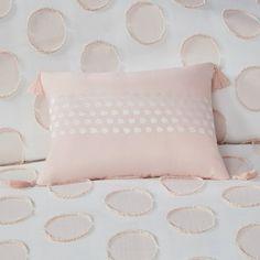 Jennifer Modern/Contemporary 100% Polyester Jacquard Duvet Cover Set – English Elm Duvet Cover Sets, Bed Covers, Pillow Cases, Pillow Shams, Polka Dot Fabric, Polka Dots, Bed Pillows, Envelope Pattern, Dots Design
