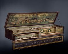 MusicArt VIRGINAL. Hans Ruckers the Elder (Mechelen ca. 1540s–1598 Antwerp). Date: 1581.