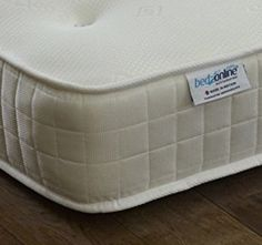 4ft6 Double Memory Foam Mattress With Open Coil Spring System Ultra Cool Stretch Fabric Exclusive To Bedzonline