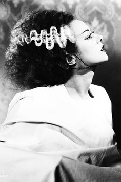 Elsa Lanchester in The Bride of Frankenstein (1935)
