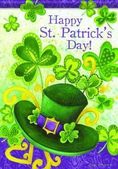 Glitter Garden Flag Double Sided inch Carson Homes Happy St. Saint Patricks Day Art, St Patricks Day Quotes, Happy St Patricks Day, St Patricks Day Wallpaper, Happy Patrick Day, St Patrick's Day Decorations, Holiday Themes, Holiday Ideas, Irish Blessing