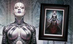 The Hell Priestess Premium Art Print Arte Horror, Horror Art, Horror Movies, Dark Fantasy Art, Dark Art, Creepy, Scary, Fantasy Monster, Spiderman