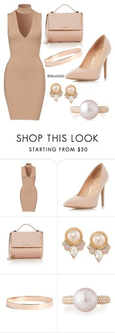 Untitled #4 by theelablife on Polyvore featuring Dorothy Perkins, Givenchy, Carolee, Lana Jewelry, Belpearl, DorothyPerkins, carolee, belpearl and lanajewelry
