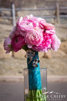 An inspiration board for bridal bouquets from past weddings at Twin Owls Steakhouse. Florists create the most beautiful wedding bouquet arrangements for our brides. Colorado Rocky Mountain wedding inspiration. Estes Park wedding receptions.