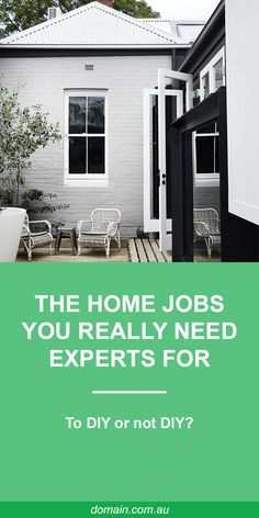 Here are four common jobs you really need the experts for. Exterior House Colors, Exterior Paint, Weatherboard House, S Brick, Porch Entry, Home Fix, Home Jobs, Home Reno, House Painting