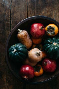 fall produce | dolly and oatmeal
