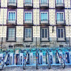 Las bicicletas son también para el invierno  Calle de Vergara Madrid #nature #photography