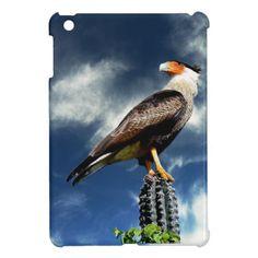Eagle standing on a cactus iPad mini cover #eagle #cactus #ipad_cover