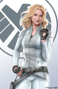 Sharon Carter: Agent 13 by Vylla Art.  (Tumblr Artist)