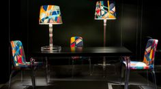 Out of the Box Floor Lamps by Marcel Wanders  | www.delightfull.eu/blog | #floorlamps #midcentury #marcelwanders