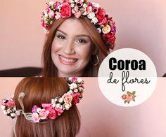 coroa de flores <3