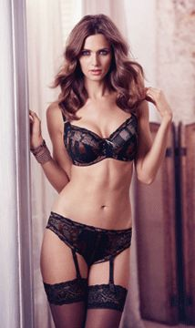 Fantasie AW13 lingerie: Fantasie Lingerie has two new styles for AW13, stunning metallic Martina and Rebecca Nouveau, an update of brand favourite Rebecca.