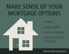 If you want to buy a home, but don't qualify for a traditional mortgage, there are alternatives that may help. This video will help define the different mortgage types that may work for you. #BetterMoneyHabits