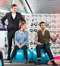 Bridget Jones 3 : Patrick Dempsey, Renée Zellweger et Colin Firth prennent la pose - Diaporama - AlloCiné